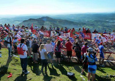 Top 5 Cycling Climbs in Spain - Peña Cabarga on La Vuelta