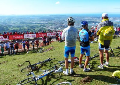 Top 5 Cycling Climbs in Spain - Peña Cabarga on La Vuelta 2014