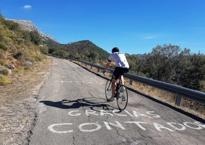The Best Cycling Climbs in Europe, the Pandera, Andalucia